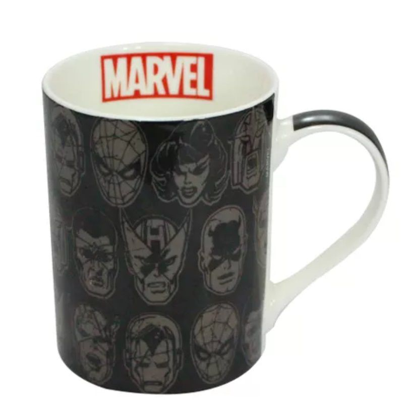 CANECA RETA MARVEL FACES