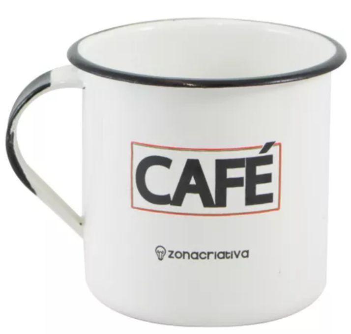 CANECA RETRÔ CAFÉ - MANIA MIX