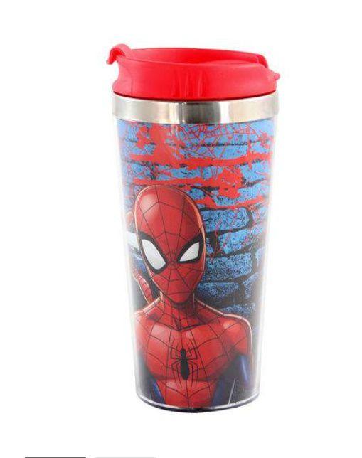 Copo Termico Viagem Inox Spider Man
