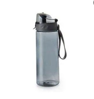 Garrafa Esportiva De Plástico 700 Ml 23,5 X 7,0 Cm