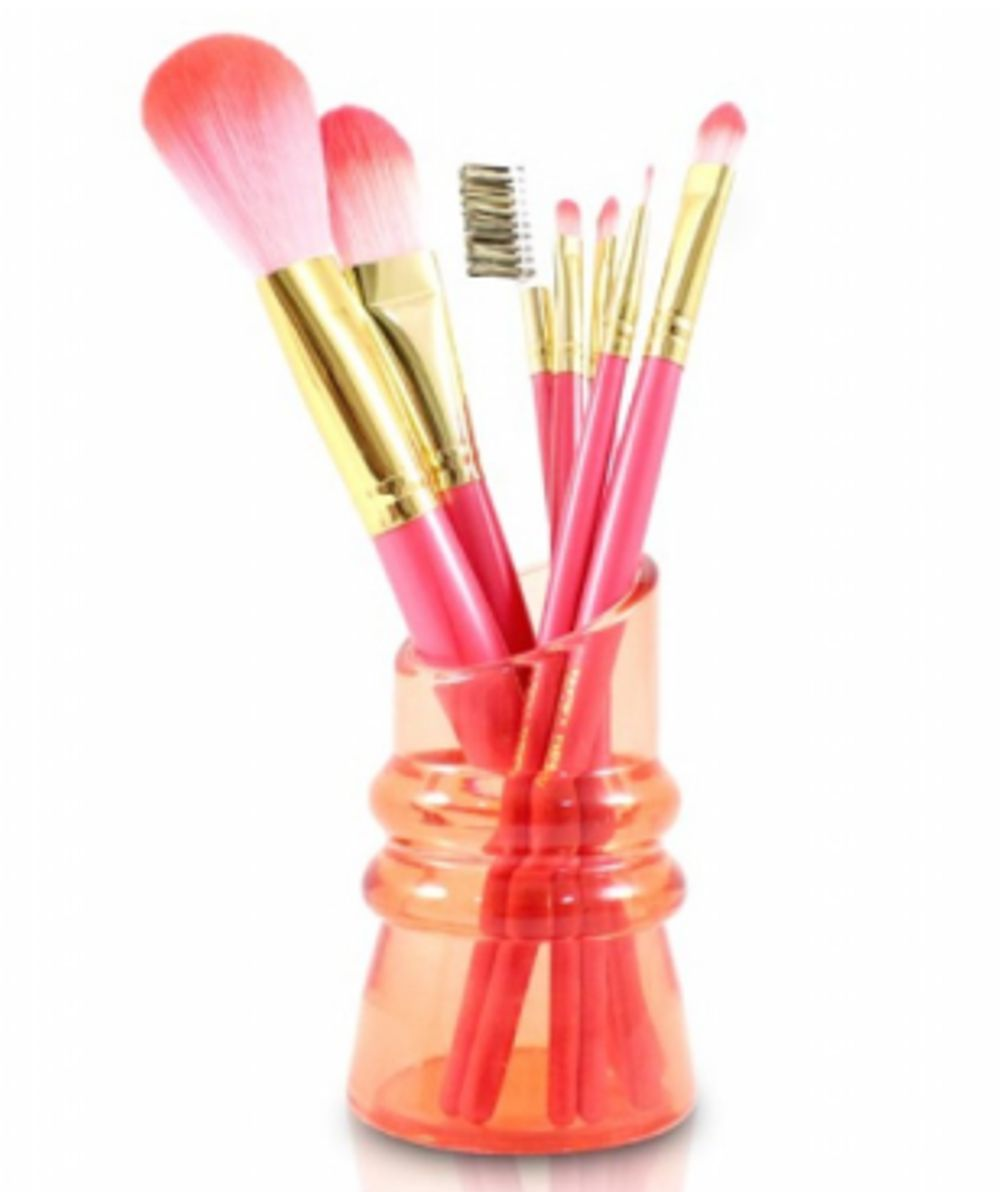 Kit de Pincéis com Suporte Candy Kiss - SALMON