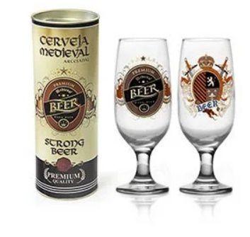 Taça Floripa Rótulos Cerveja Lager + Tubete
