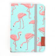 porta-passaporte DAN | flamingos