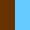 Marrom-azul