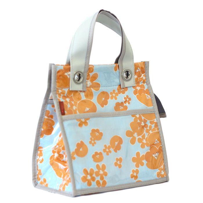 lancheira LILLY | floral laranja