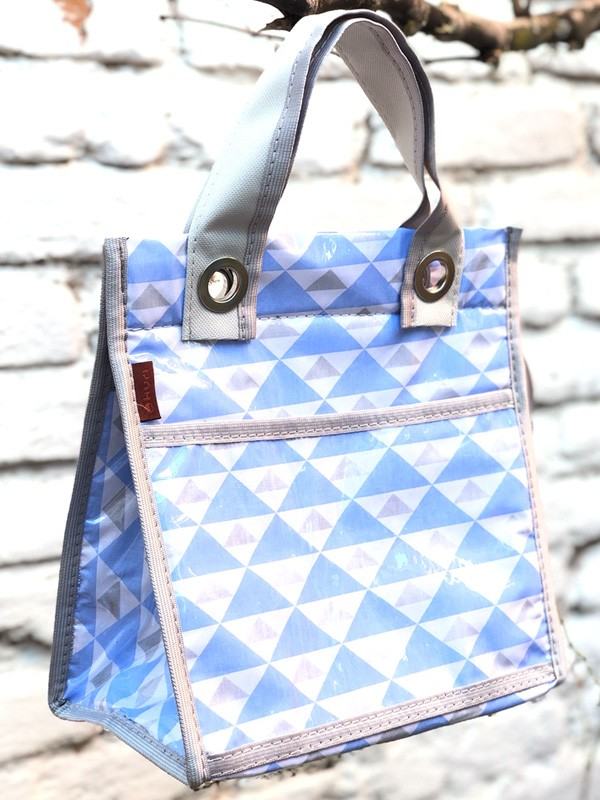 lancheira LILLY | triângulo azul