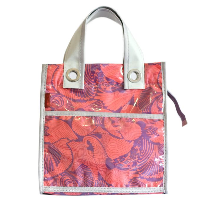 lancheira LILLY | floral lilás