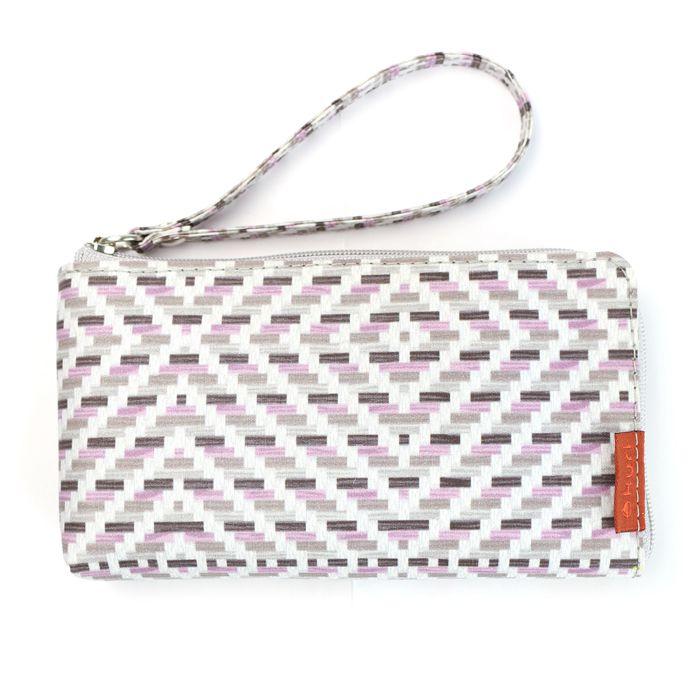 porta-celular MOBS | cesta cinza-lilás