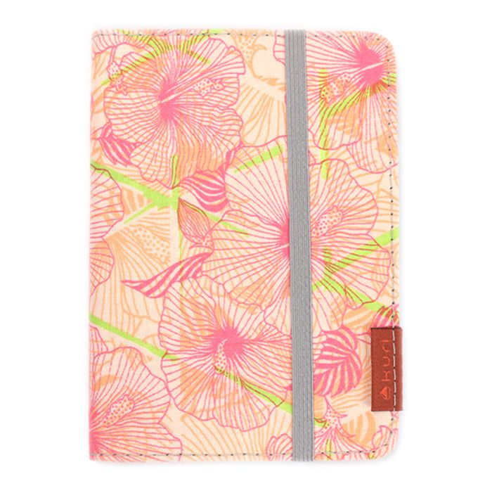 porta-passaporte DAN | floral rosa