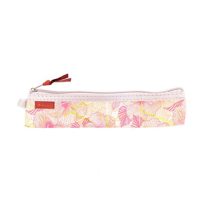 porta talher e porta canudo Paul | floral rosa