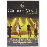 DVD Canticos Vocal In Concert