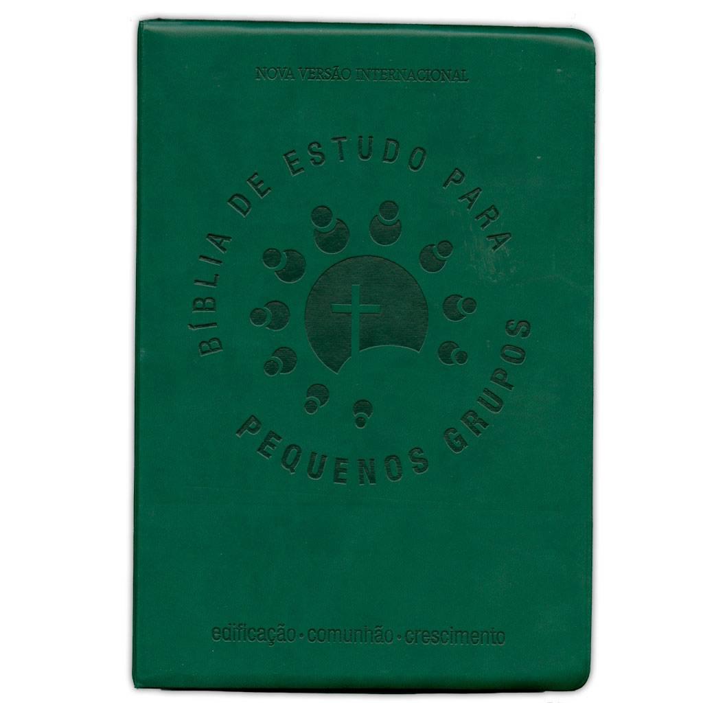Bíblia de Estudo Para Pequenos Grupos - Verde