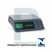 Balança Digital Inox com Bateria 15KG (Com Peso, Preço e Total)