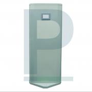 Biombo Curvo com Proteção de Chumbo e Visor Plumbífero 2,10 x 80 cm