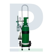 Kit Cilindro 7 Litros para Oxigênio