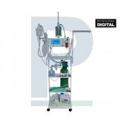 Kit de Anestesia Hipnos Eletronic com Ventilador Completão 16 Litros