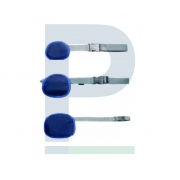 Kit Protetor Plumbífero Testicular - 3 Peças