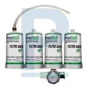 Kit Refil do Filtro Anestésico Ane 1000 C/ 4 unidades