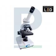 Microscópio Biológico Monocular com LED Nº116AL