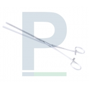 Pinça Kocher Intestinal e Coprostasi Reta