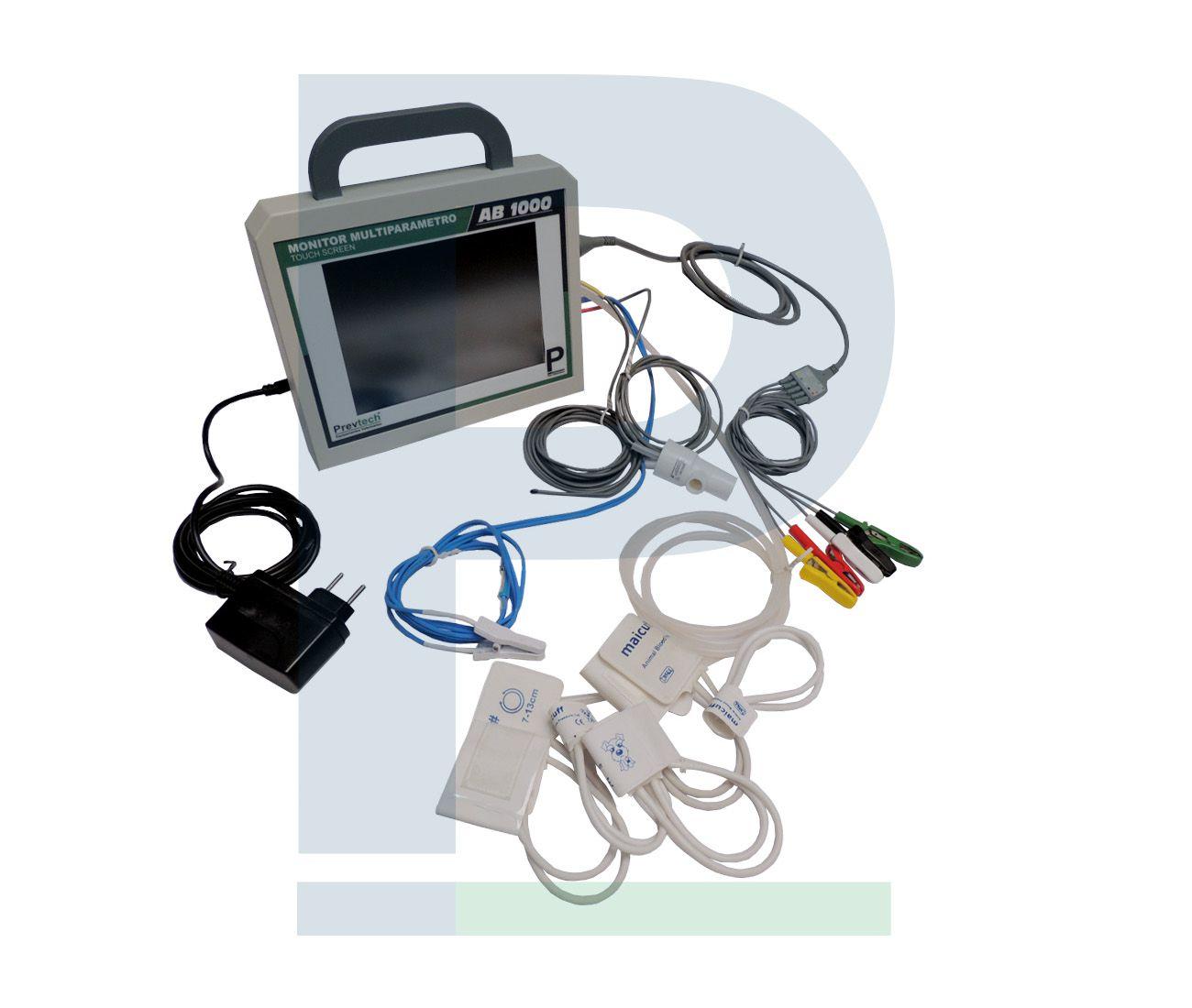 Monitor Veterinário Multiparamétrico AB 1000 - Nacional