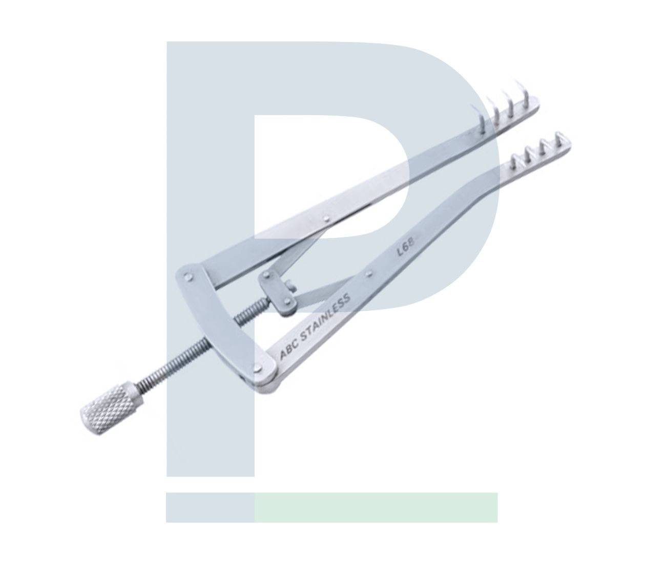 Afastador Veterinário ALM - Dentes Agudos