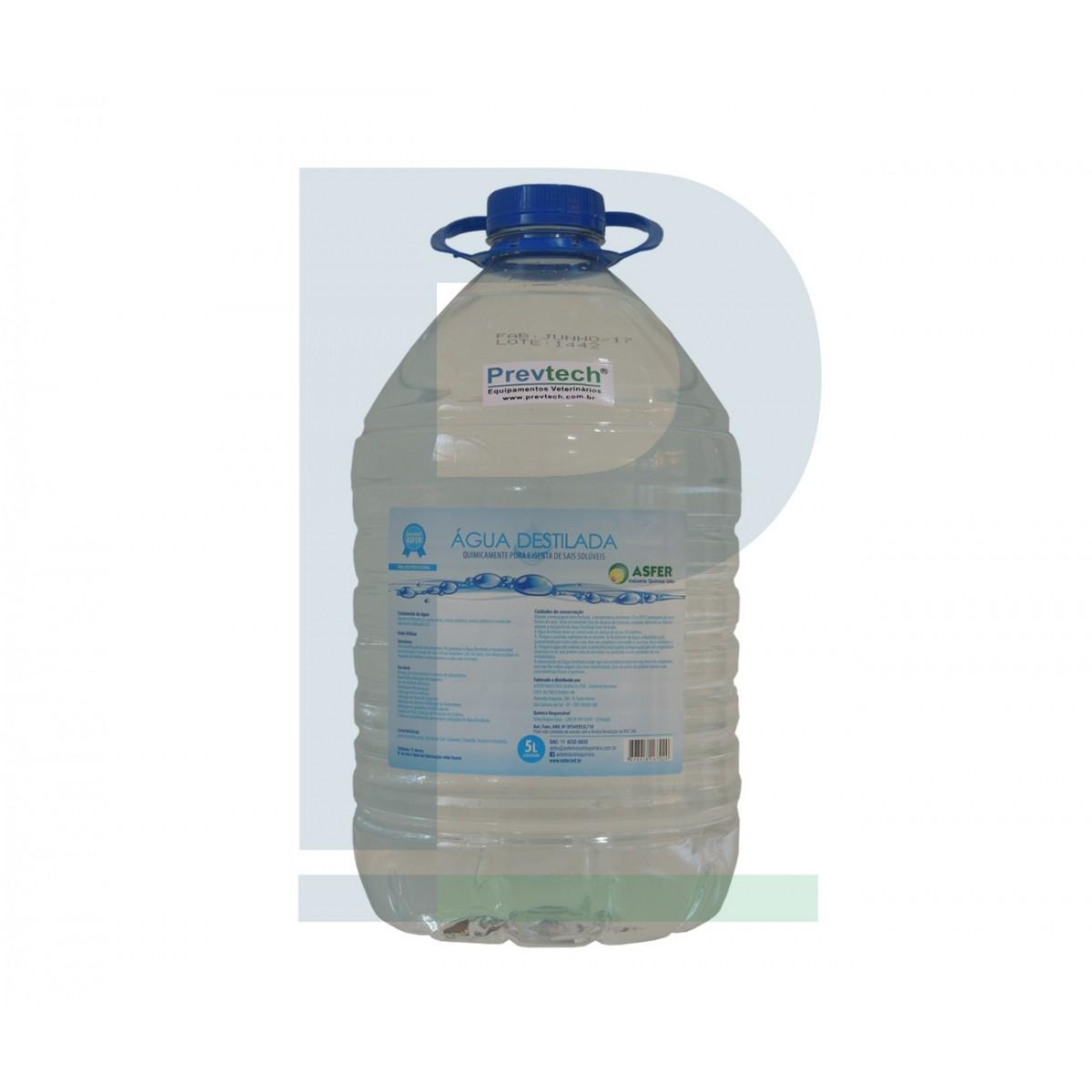 Água Destilada 5 L