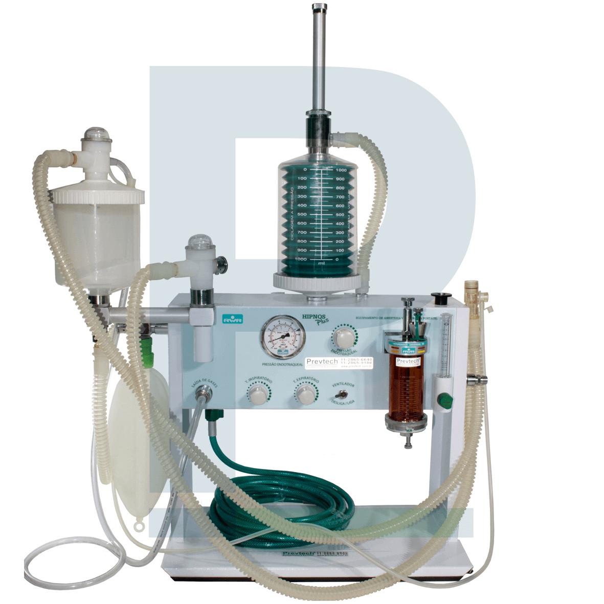 Aparelho de Anestesia Veterinária Hipnos Plus com Ventilador