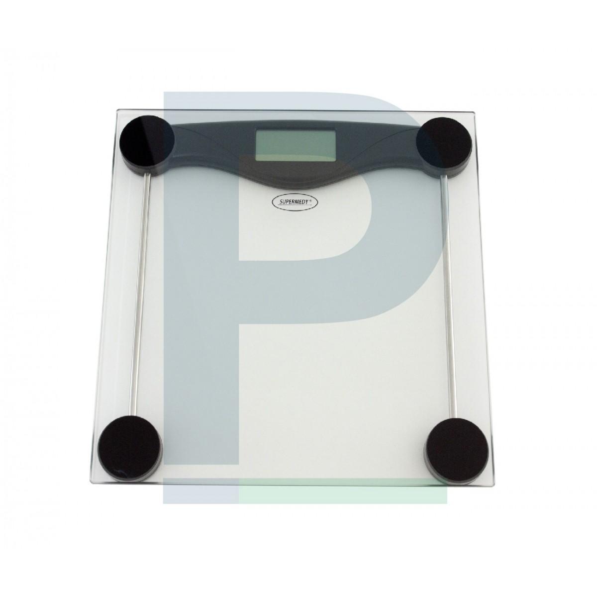 Balança com plataforma de vidro