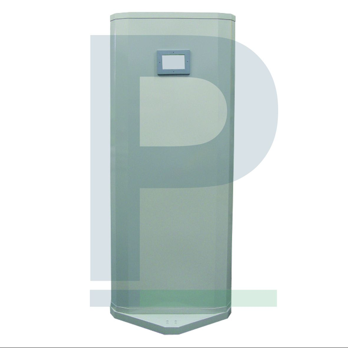 Biombo Curvo com Proteção de Chumbo e Visor Plumbífero 1,90x80 Cm