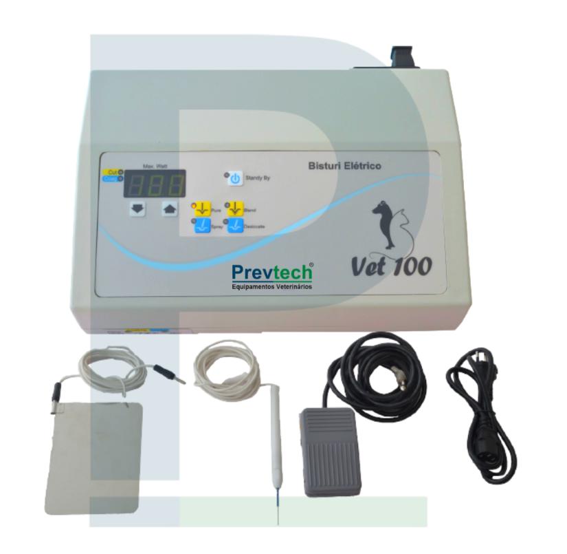 Bisturi Eletrônico Veterinário Digital VET 100