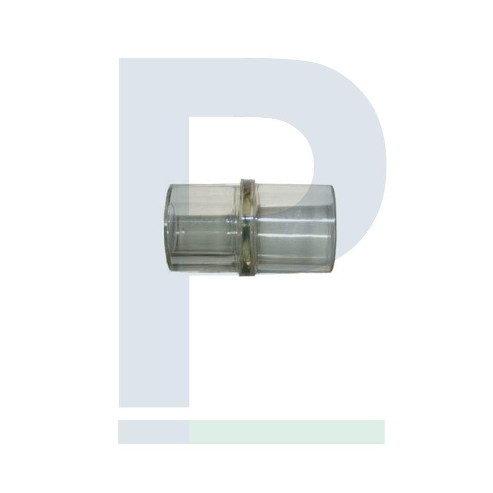 Conector Reto Veterinário 22MM para Umidificador e Máscara