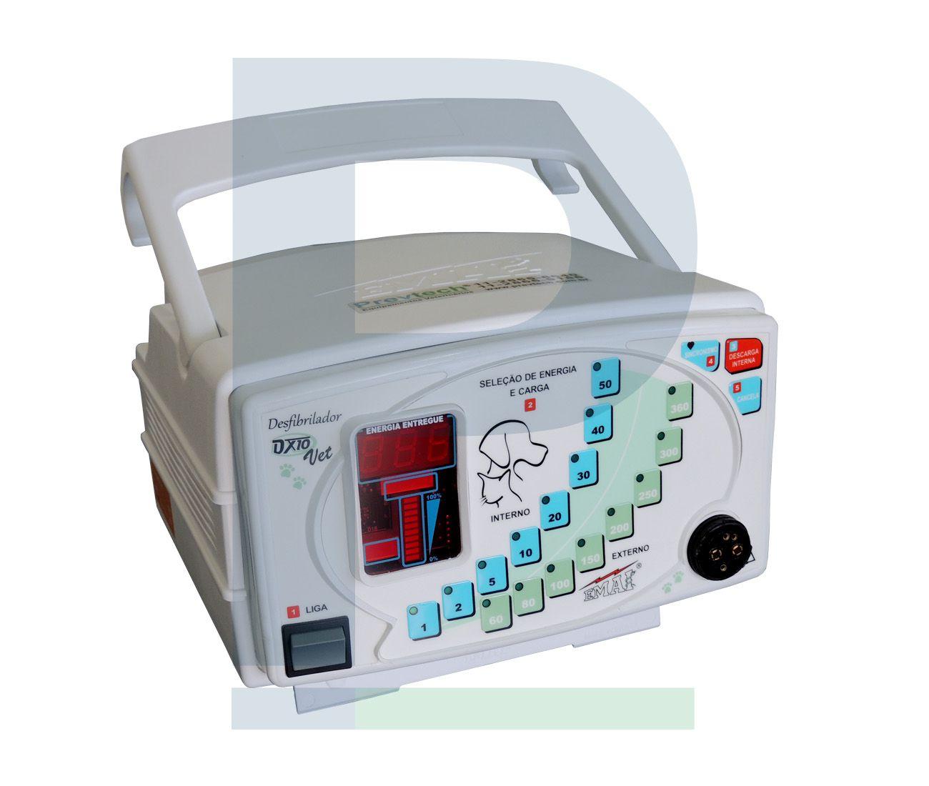 Desfibrilador Veterinário - DX10
