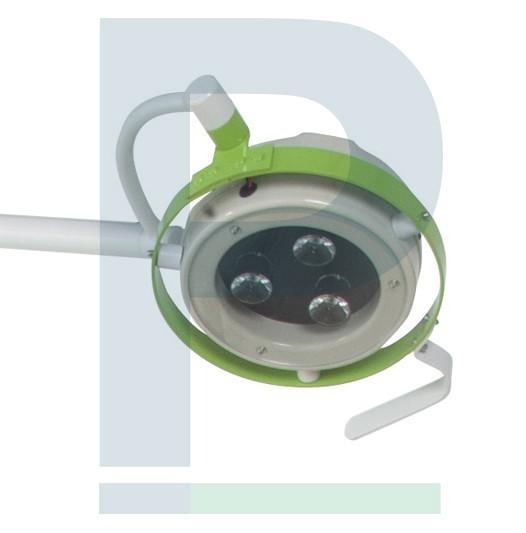 Foco Cirúrgico De Teto Com Bateria - 03 Leds