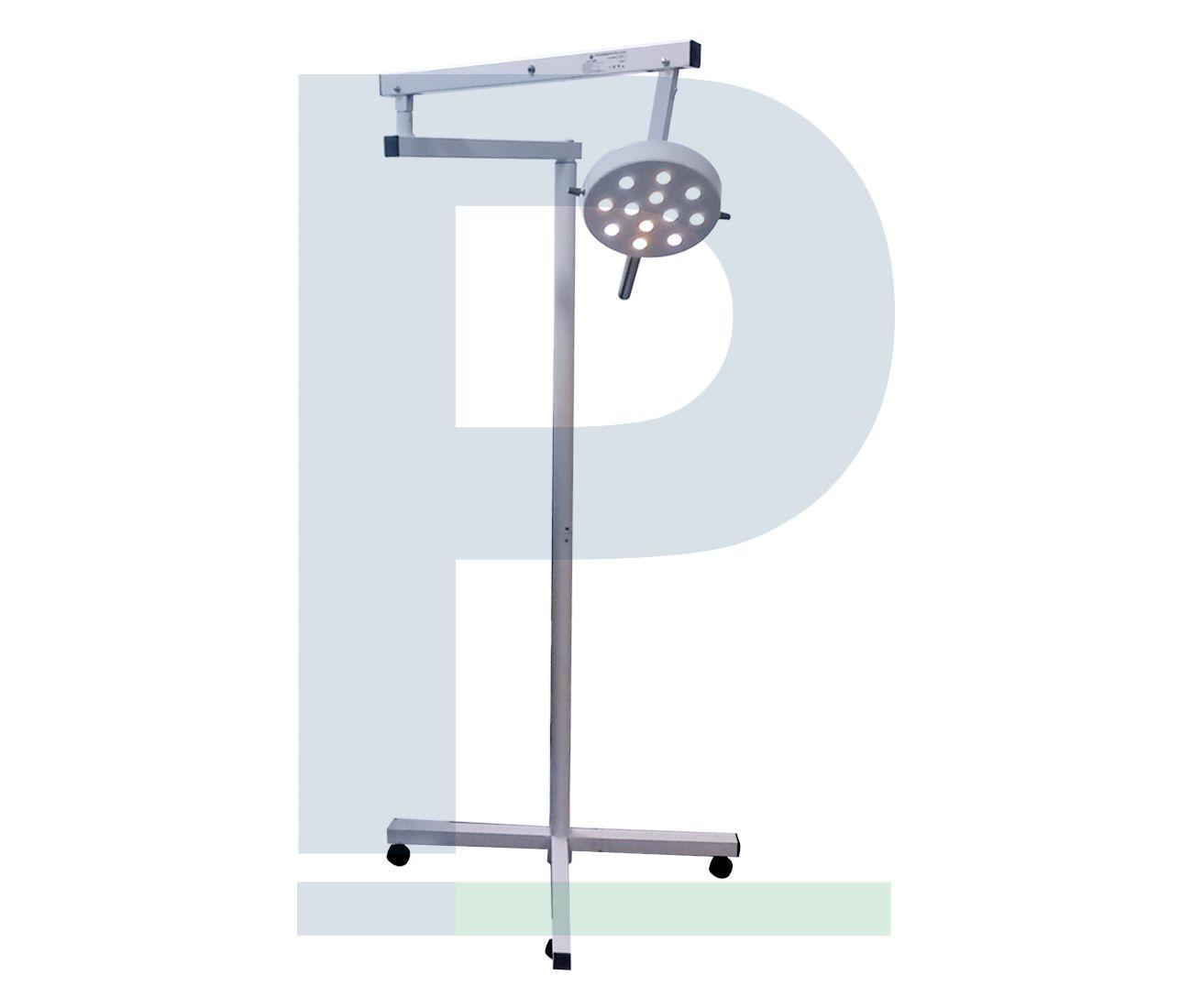 Foco Cirúrgico Pedestal Sem Bateria - 12 Leds