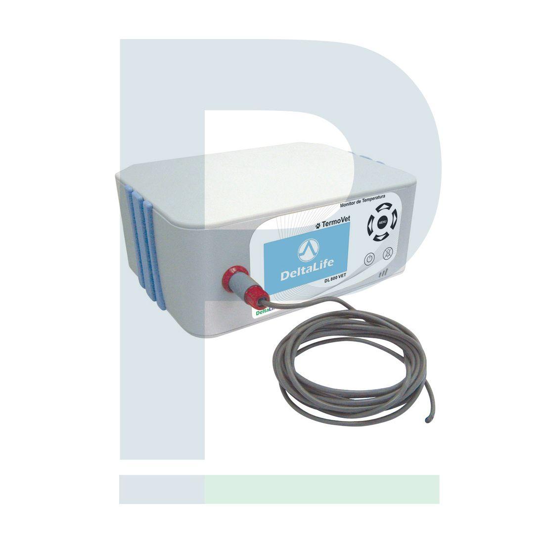 G - Monitor De Temperatura Veterinário TermoVet - DL 800