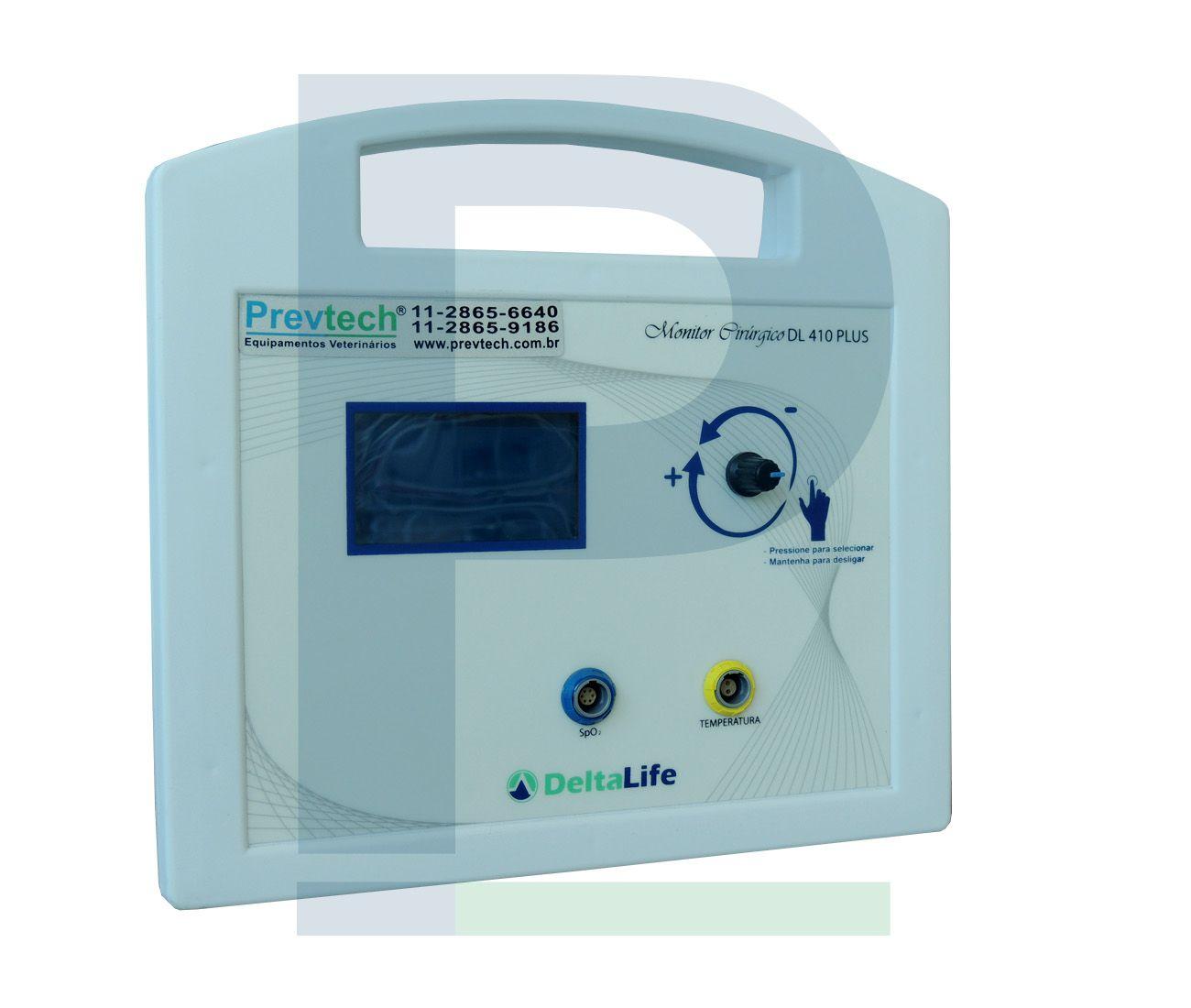 K - Monitor Veterinário Cirúrgico - DL 410 Plus