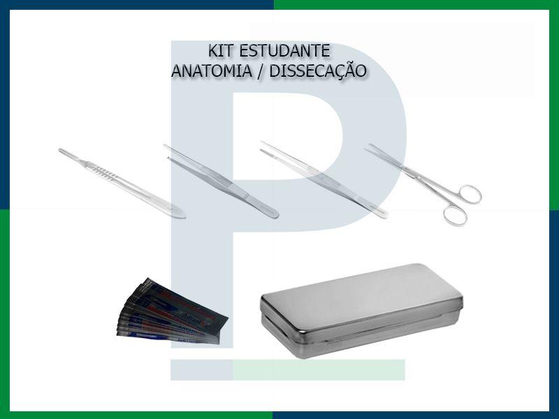 Kit Básico Estudante - Anatomia/dissecação