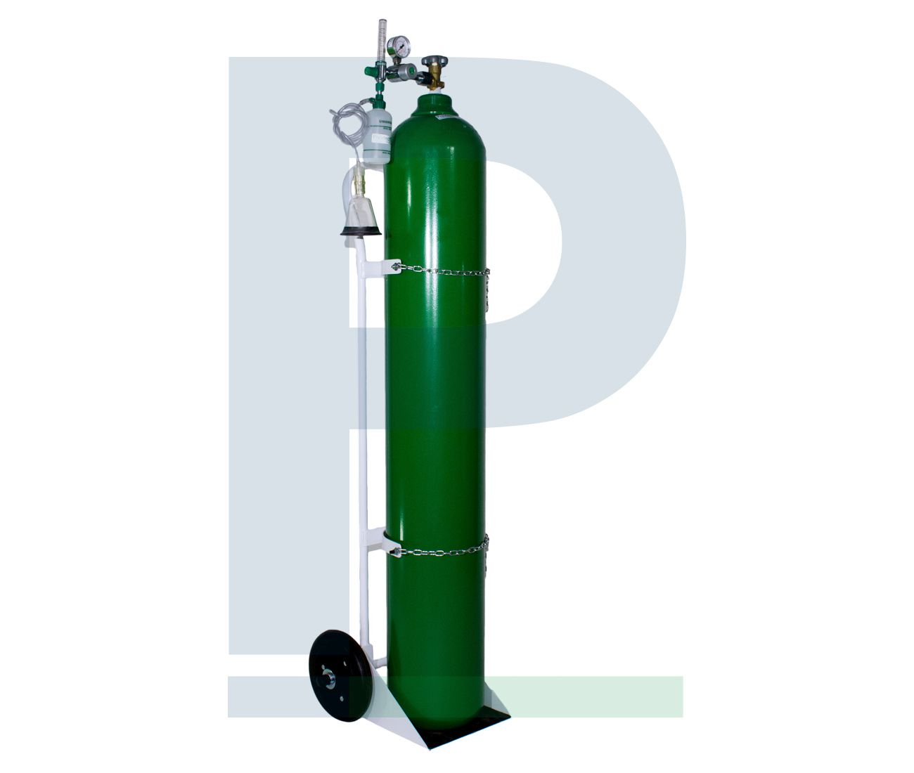 Kit Cilindro 50 Litros para Oxigênio