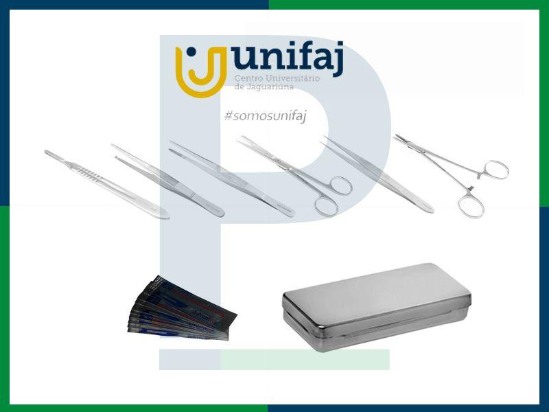 Kit Unifaj Estudante Anatomia/Dissecção