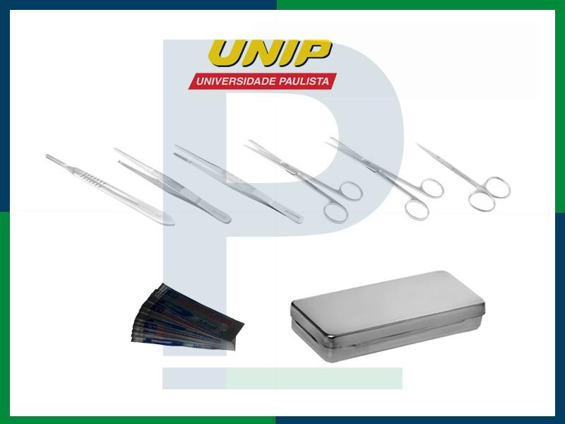 Kit Estudante Unip - Anatomia/Dissecação