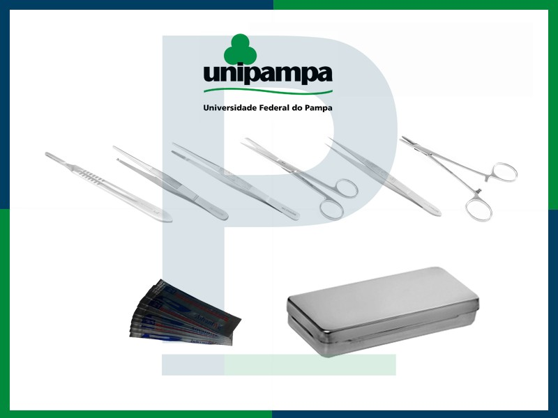 Kit Estudante Unipampa - Anatomia/Dissecação