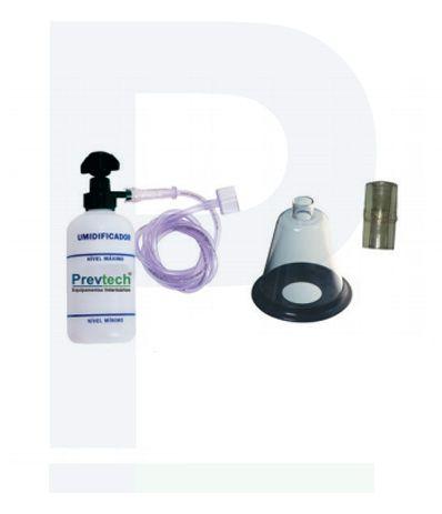 Kit Veterinário Inalação de Oxigênio Completo