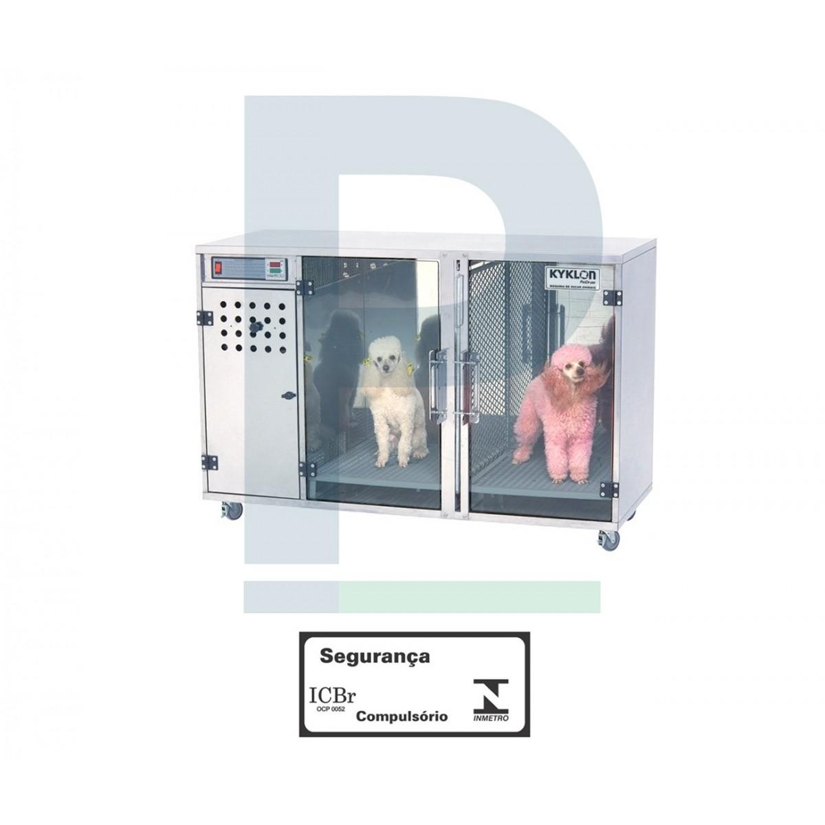Máquina de secar - Inox