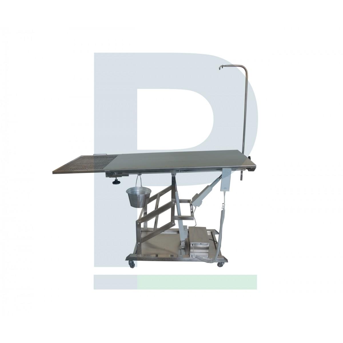 Mesa cirúrgica pantográfica - base inox 2 motor