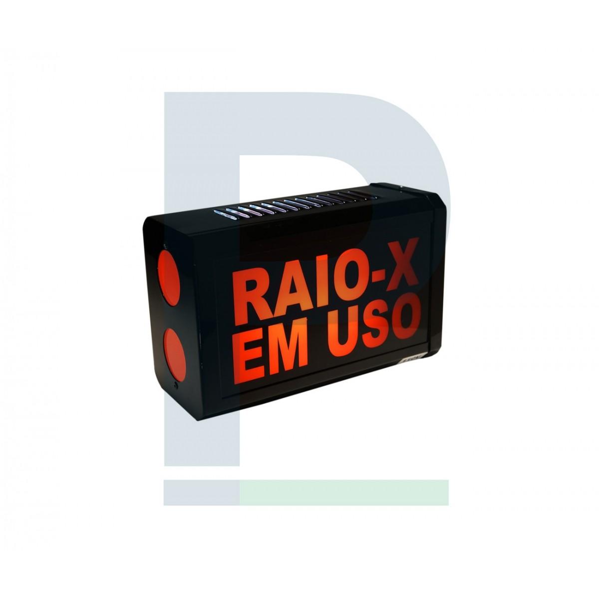 Sinaleiro Raio-X em uso
