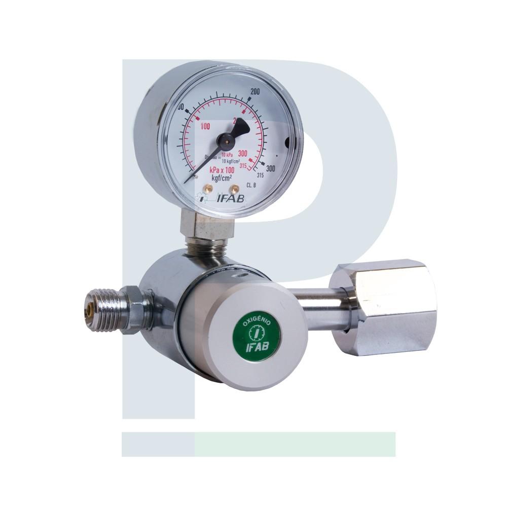 Válvula Reguladora de Oxigênio - 1 Saída
