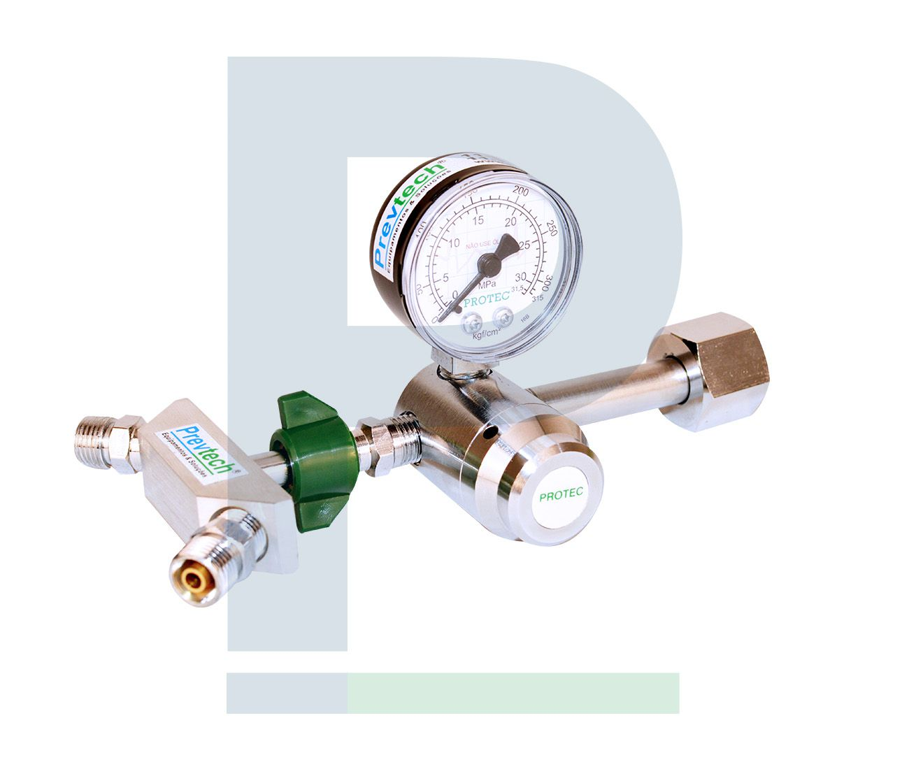 Válvula Reguladora de Oxigênio - 2 Saídas