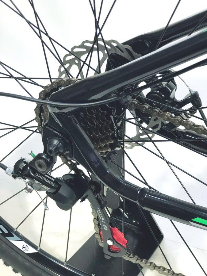 9648b4de2 ... Bicicleta First Smitt Mtb Aro 29 Tamanho 17.5 Preto Verde Fosco ...