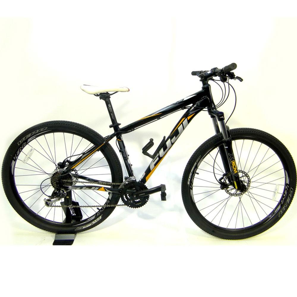 Bicicleta Fuji Nevada Aro 29 Tamanho S/M Preto/Laranja Usada